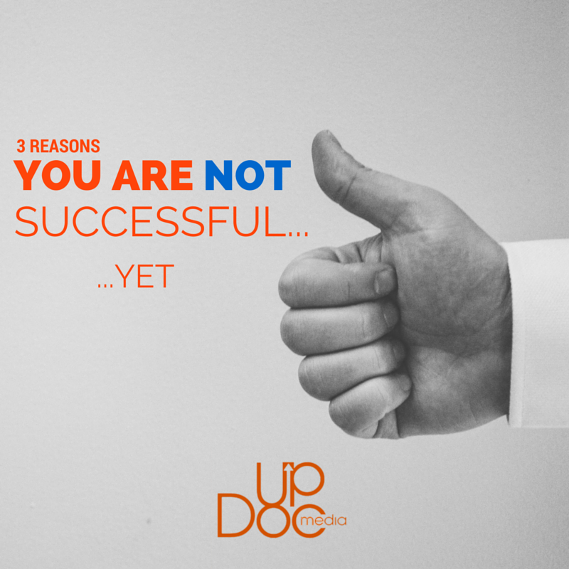 how to be successful updoc media
