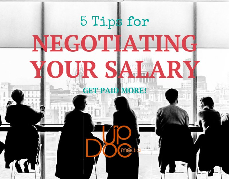 tips for negotiating salary