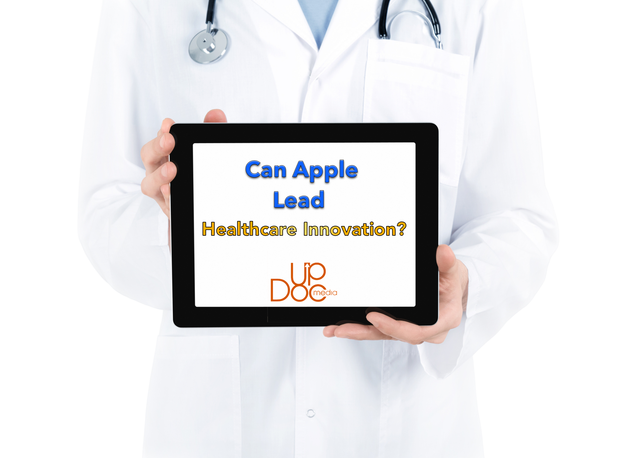 UpDoc Media Dr. Gene Shirokobrod Apple Healthcare post