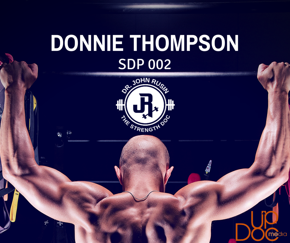 strength doc podcast episode 2 on updoc media
