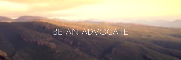 Updoc media be an advocate leadership