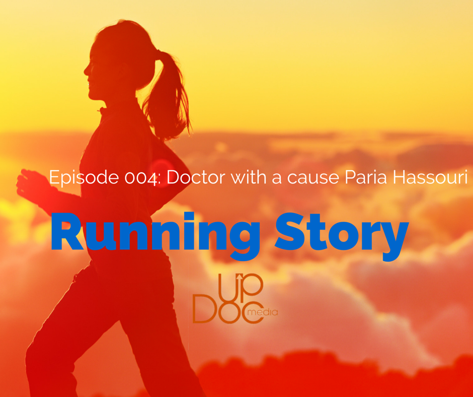 Running, podcast