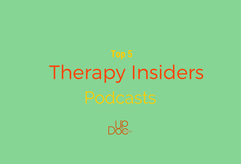 physical therapy, podcast, therapy insiders, updoc media
