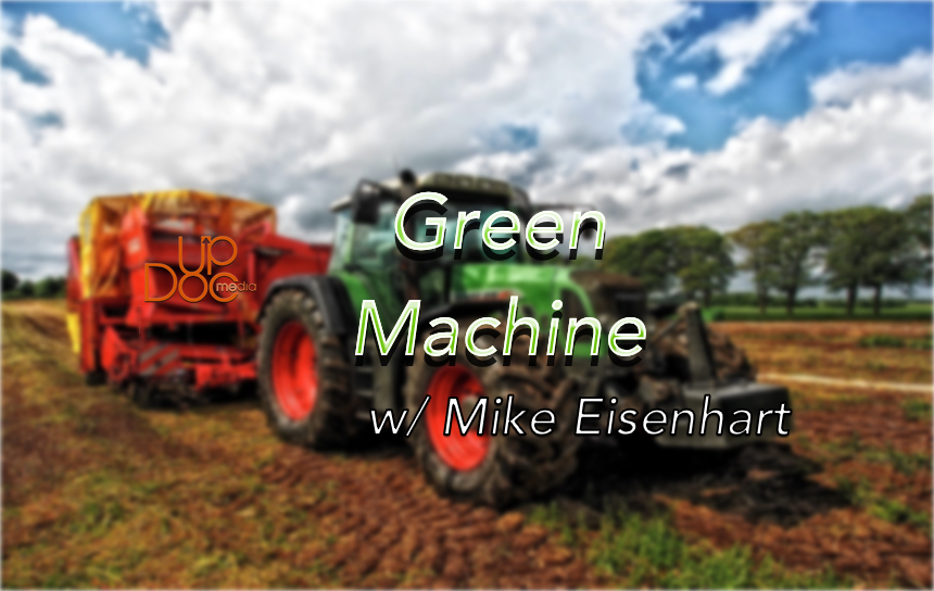 Eating Green with Mike Eisenhart on Therapy Insiders podcast