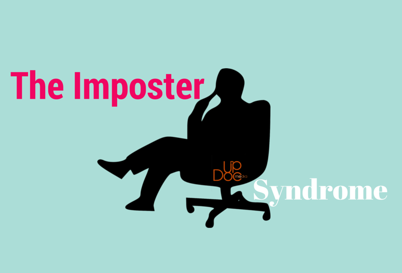 blog about imposter syndrome on updoc media