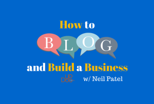 Dr. Gene Shirokobrod interview Neil Patel about blogging for business