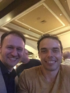 Joe Palmer and Gene Shirokobrod at PPS 2015