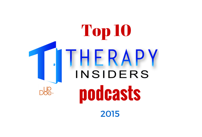 top physical therapy podcasts therapy insiders updoc media