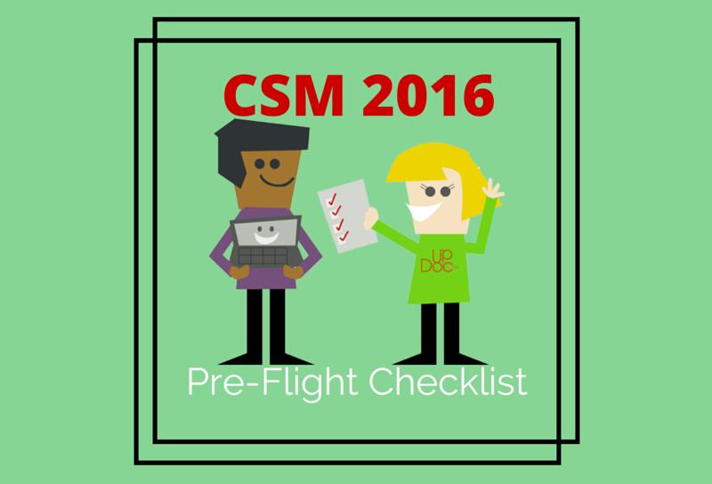 APTA CSM Checklist 2016 physical therapy