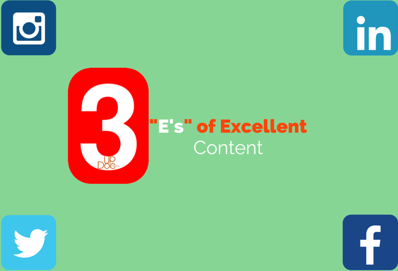 Creating excellent content for social media