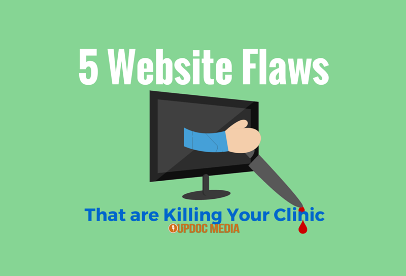 5 Website Flaws That Are Killing Your Clinic