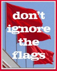 red flag dating blog
