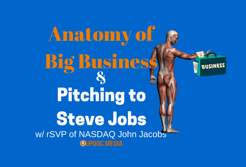 Pitching to Steve Jobs w/ NASDAQ rSVP John Jacobs