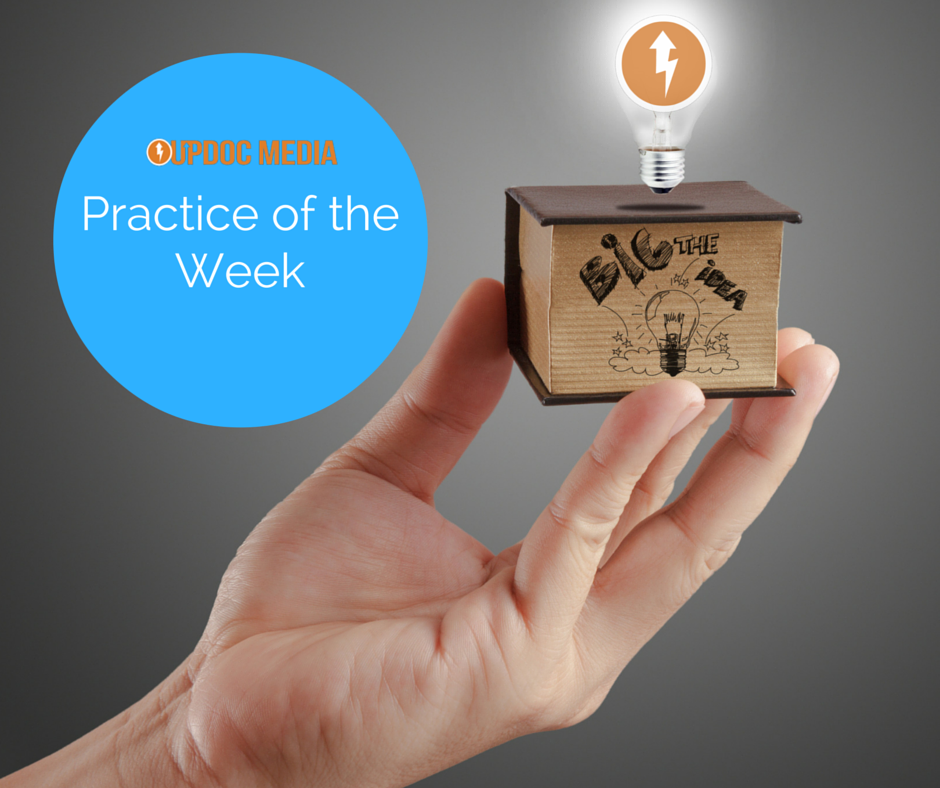"Win ""Practice of the Week!"""