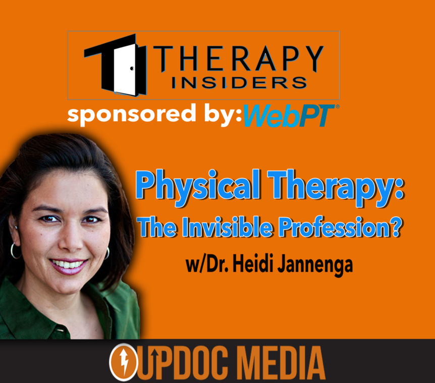 WEBPT president Heidi Jannenga on Therapy Insiders podcast