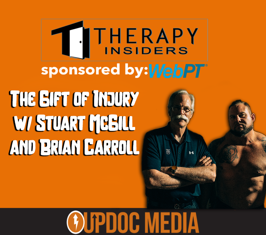 Stuart McGill on Therapy Insiders podcast
